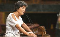 Amparo Botejara, portavoz de Sanidad de Unidos Podemos en el Congreso de los Diputados.