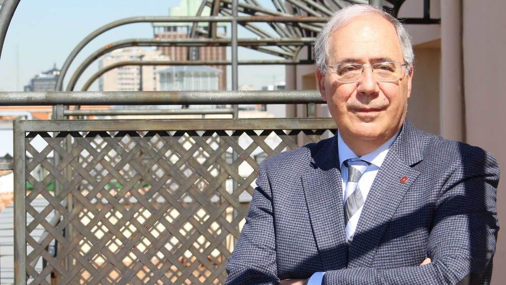 Roberto Fernández, presidente de la Confederación de Rectores de Universidades Españolas