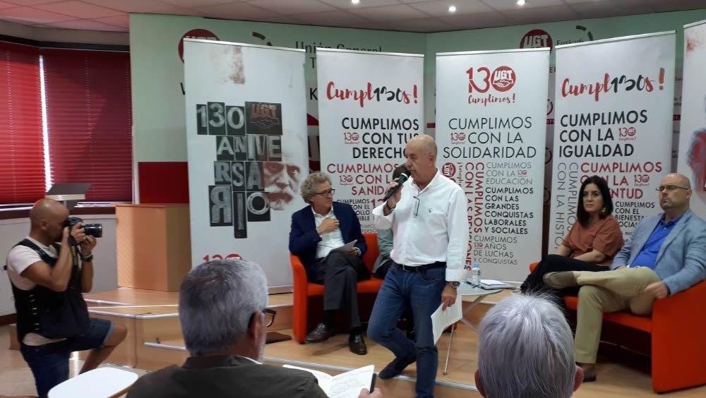 Raúl Arza, secretario General de UGT Euskadi