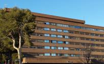 Vista del Hospital General de Albacete.