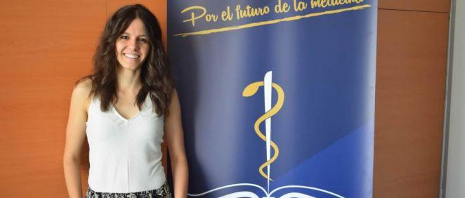 Laura Martínez, presidenta del Consejo Estatal de Estudiantes de Medicina (Foto. CEEM).