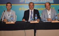 Dres. Mariano Andrés Collado, Víctor M. Martínez Taboada, Joan Miquel Nolla Solé y Francisco Javier Narváez García, coordinadores del curso