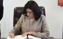 Carmen Montón, exministra de Sanidad, Consumo y Bienestar Social