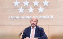 Pedro Rollán, vicepresidente, consejero de Presidencia y Portavoz de Gobierno de la Comunidad de Madrid