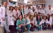 Grupo coordinado por Juan Fernando Masa, investigador del CIBERES en el Hospital San Pedro de Alcántara de Cáceres.