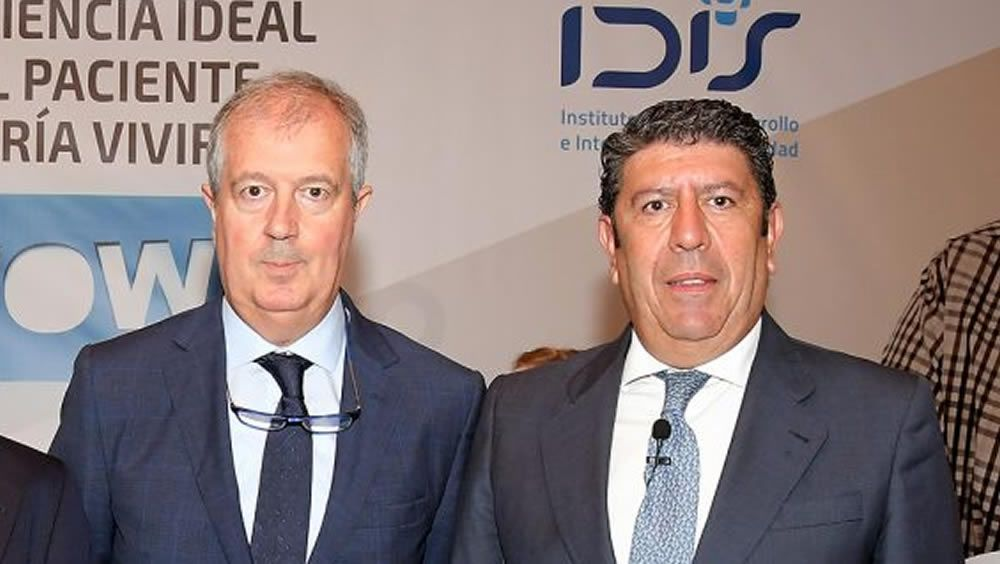 Luis Mayero y Manuel Vilches, presidente y director general de la Fundación IDIS