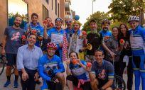Empleados de BMS España y Portugal inician la carrera ciclista 'Country 2 Country 4 Cancer'