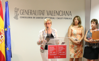 La consejera de Sanidad, Ana Barceló.