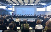 La consejera de Salud de Cataluña, Alba Vergés, ha presidido el I Fórum de Diálogo Profesional.