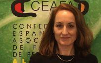 Cheles Cantabrana, presidenta de Ceafa