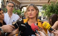 Alba Vergés, consejera de Salud de Cataluña.