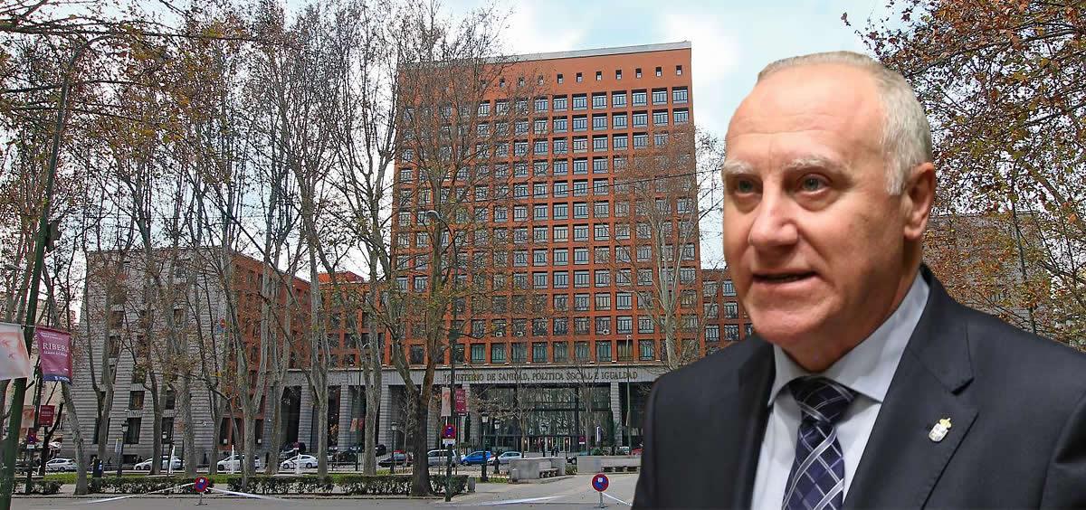 Faustino Blanco, repite como secretario general de Sanidad (Montaje ConSalud.es)