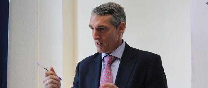 Juan Antonio Álvaro de la Parra, gerente de la FJD, HRJC, HGV y HIE.