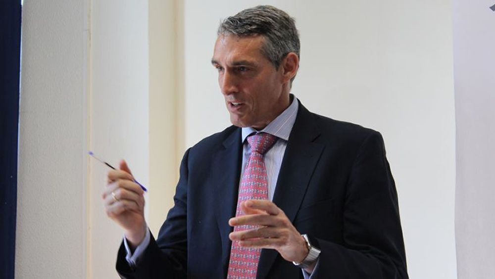Juan Antonio Álvaro de la Parra, gerente del Hospital Universitario Fundación Jiménez Díaz