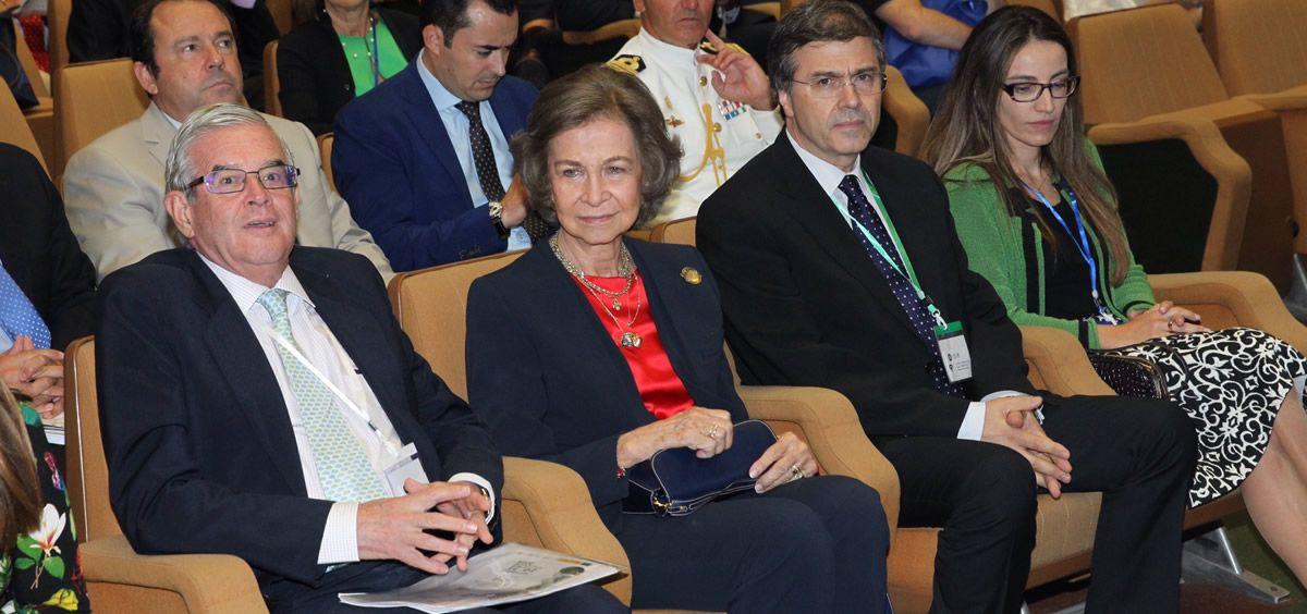 La Reina Sofía ha asistido al congreso internacional del Alzhéimer