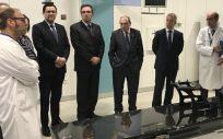 Iñigo Urkullu y Jon Darpón, en la inauguración pasada de un nuevo acelerador lineal
