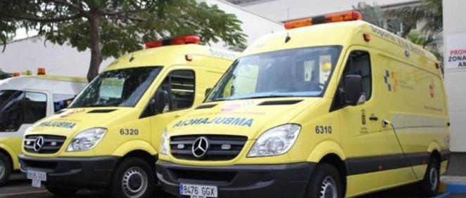 Ambulancia del Servicio Canario de Salud (SCS)