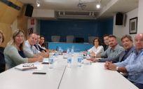 La consejera de Salud, Patricia Gómez, se reunió ayer con el presidente del Colegio Oficial de Farmacéuticos de las Islas Baleares (COFIB), Antoni Real.