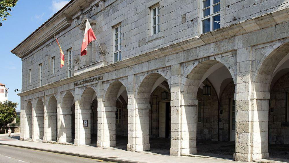 Sede del Parlamento de Cantabria.