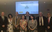 El Consejo General de Colegios Oficiales de Farmaceúticos (CGCOF) y Marca España han revonado este martes su convenio de colaboración.
