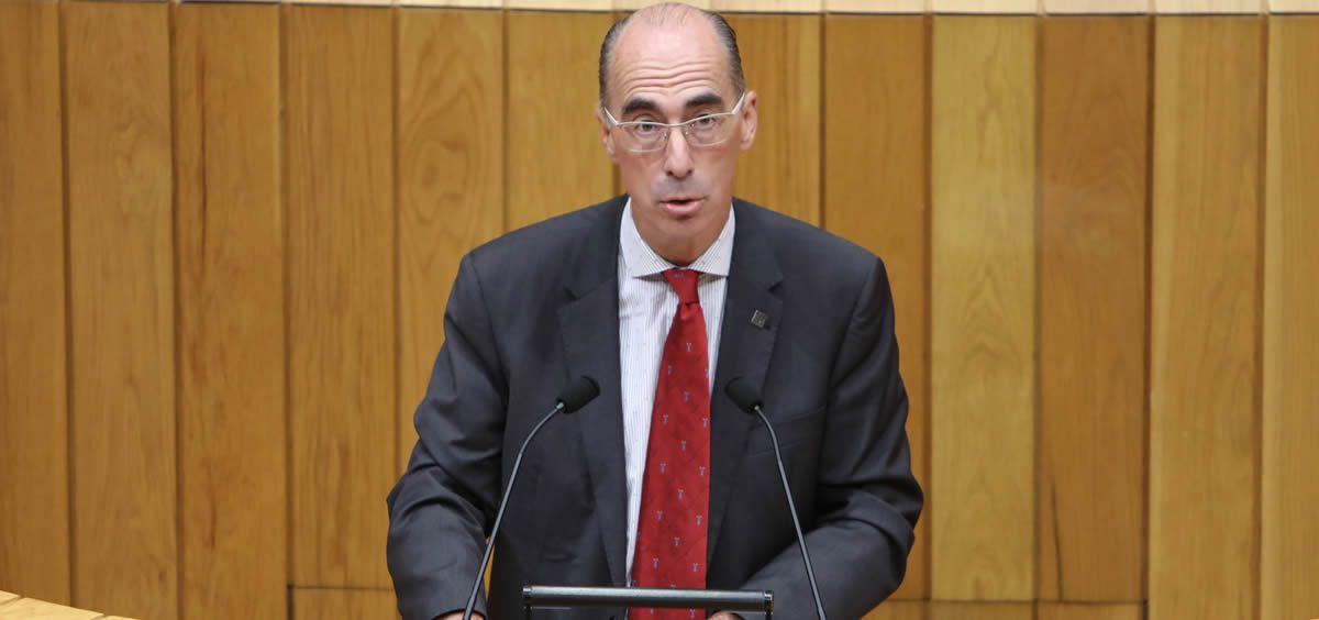 El consejero de Sanidad, Jesús Vázquez Almuiña.