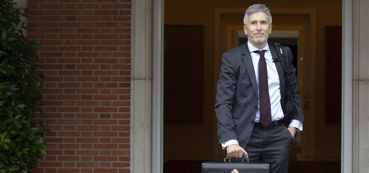 Fernando Grande-Marlaska, ministro del Interior, en funciones (Foto. Moncloa)