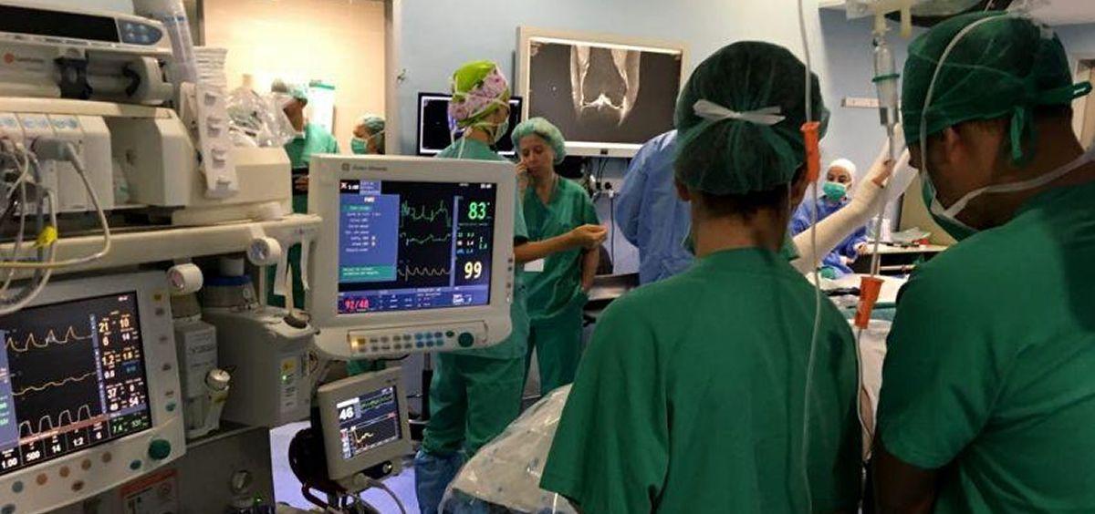 """Metges de Cataluña ha denunciado una falta """"alarmante"""" de anestesiólogos en el Hospital Josep Trueta, de Girona."""