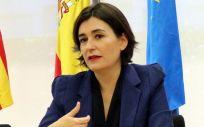 Carmen Montón, durante su etapa como consejera de Sanidad Universal y Salud Pública de la Generalitat Valenciana