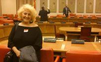 La presidenta de la Asociación Defensor del Paciente, Carmen Flores.