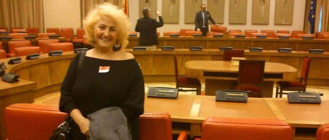 La presidenta de la Asociación Defensor del Paciente, Carmen Flores (Foto. Defensor del Paciente)