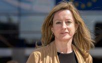 La eurodiputada socialista, Soledad Cabezón, ponente del informe presentado. S&D