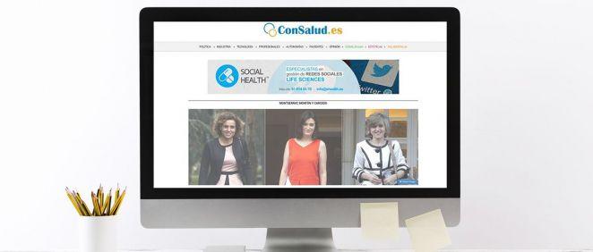 ConSalud.es roza las 900.000 visitas en septiembre.
