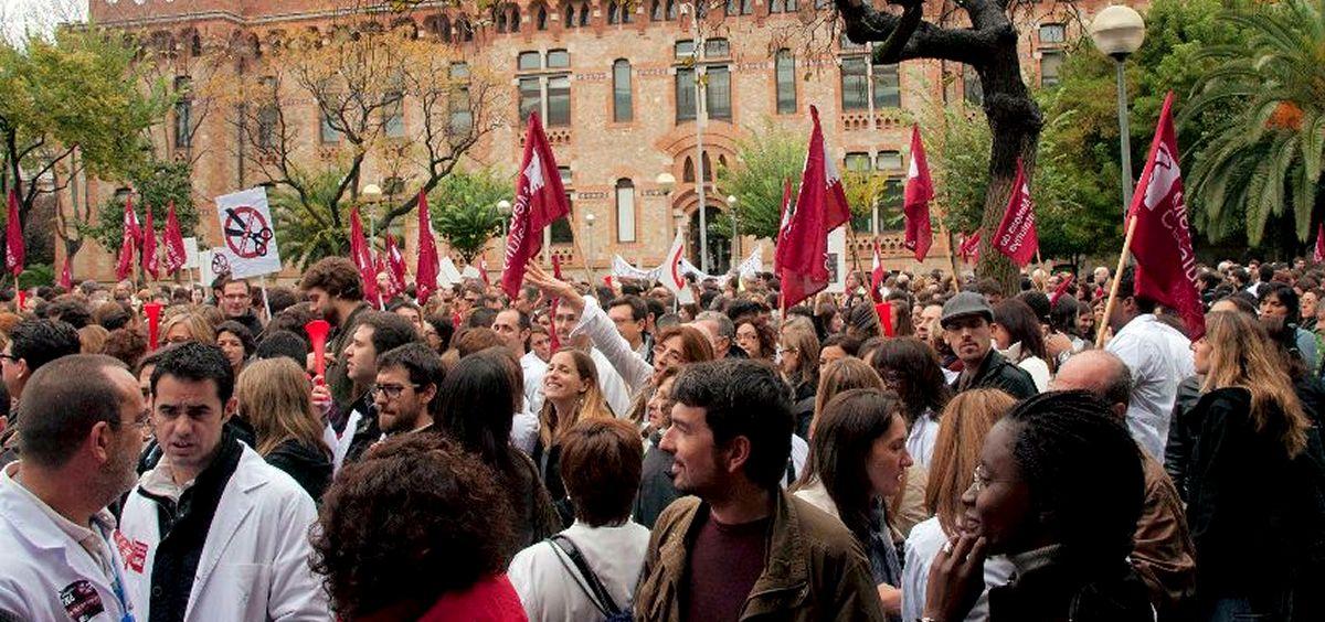 Médicos de atención primaria de Cataluña amenazan con pasar a la acción sino se les atienden sus reivindicaciones.