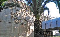 Fachada del Colegio Oficial de Médicos de Zaragoza (COMZ)
