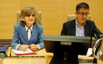 La ministra de Sanidad en funciones, María Luisa Carcedo, en una anterior Comisión de Sanidad del Congreso. (Foto: Congreso.es)