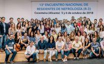 Los 74 médicos que han participado en el encuetro de comunicación organizado por la SEN