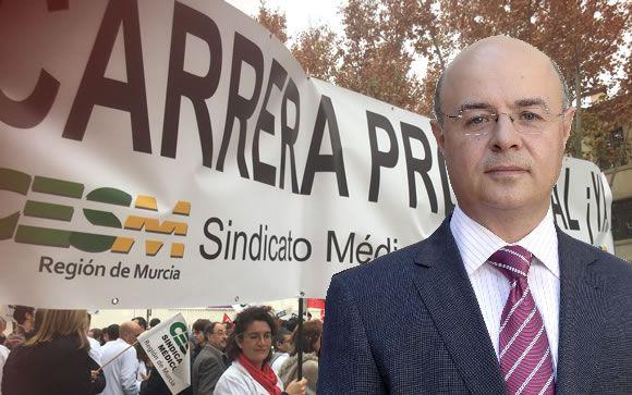 El consejero de Hacienda de Murcia, Andrés Carrillo.
