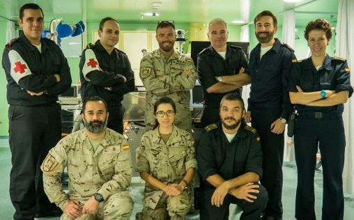 Así protege la Armada Española la salud de los militares a bordo