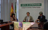 Vergés, durante la presentación de la Campaña de la Gripe en Mérida
