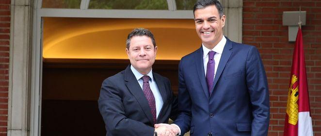 El presidente de Castilla-La Mancha se ha reunido con Pedro Sánchez para trasmitirle sus demandas sobre la financiación en sanidad y dependencia