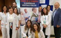 Organizadores y ponentes de la jornada en la que profesionales y pacientes han puesto el foco en la concienciación y la disparidad de uso de los anticoagulantes de acción directa