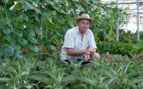 El agricultor Josep Pàmies