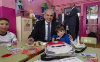 Madrid promueve la dieta sana y el ejercicio entre escolares de cinco años