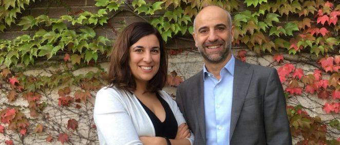 Maria Salgado y J. Martinez Picado, investigadores a cargo de la investigación que podría erradicar el VIH.