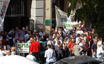 El Sindicato Médico de Málaga denuncia servicios mínimos desmesurados por parte de la Administración