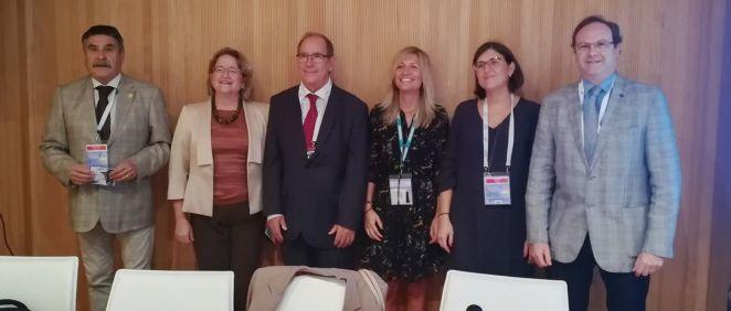 Médicos, enfermeras, farmacéuticos y representantes de la Administración han abordado este jueves la situación de la cronicidad en España