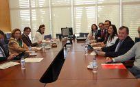 Reunión del Patronato de la Fundación Hospital de Calahorra (Eduardo Bastida)