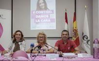 Acto de conmemoración en el Día Mundial Contra en Cáncer de Mama (Eduardo Bastida)