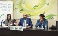 Rueda de prensa del acuerdo entre CSIF FEDE