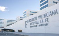 Fachada del Hospital Universitario y Politécnico La Fe de Valencia